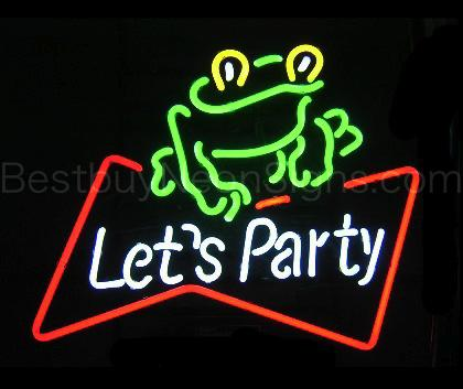 Let's Party Frog Picture