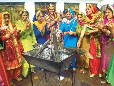 Lohri Picture for Friendster
