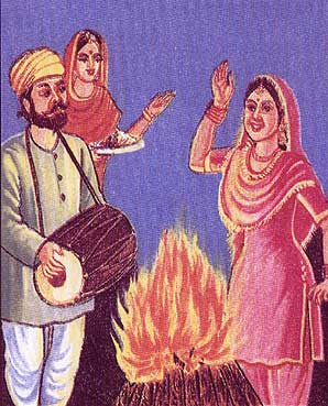 Lohri Picture for Orkut