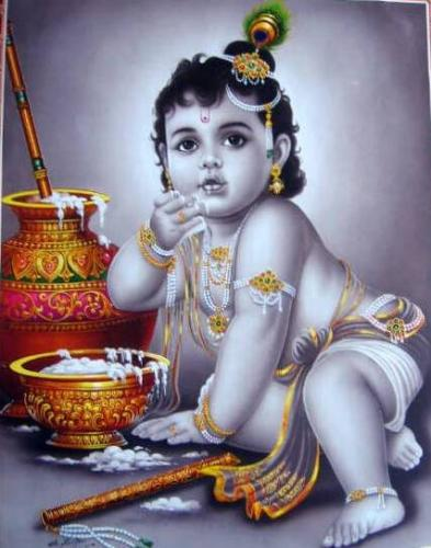 Lord Krishna Picture for Friendster