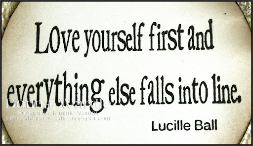 Love Yourself First and Everything Else Falls Into Line