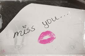 Miss you Lips Graphic