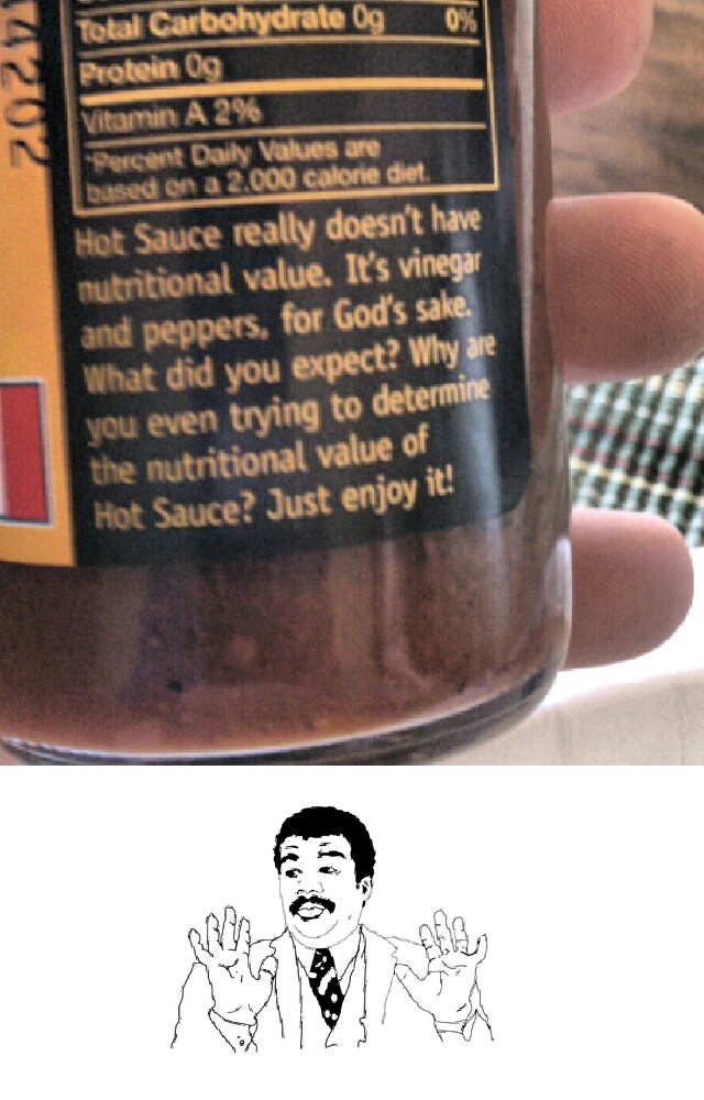 My bad, hot sauce. My bad. Funny Quote Picture