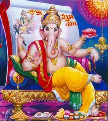 Nice Picture of Lord Ganesha