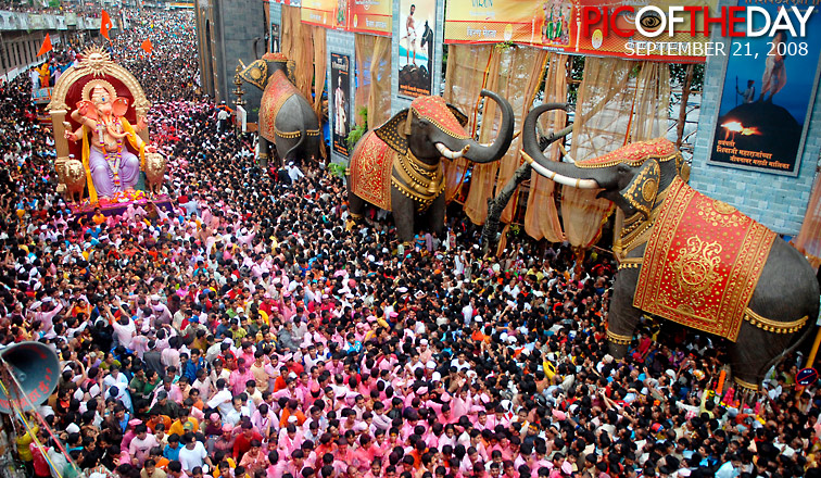 Peoples Celebrate the Ganesh Chaturthi