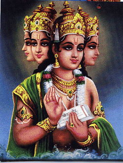Picture of Lord Brahma