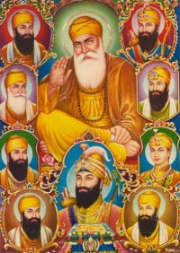 Picture of Ten Sikhism Gurus