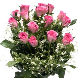 Pink Roses Bouquet for Orkut