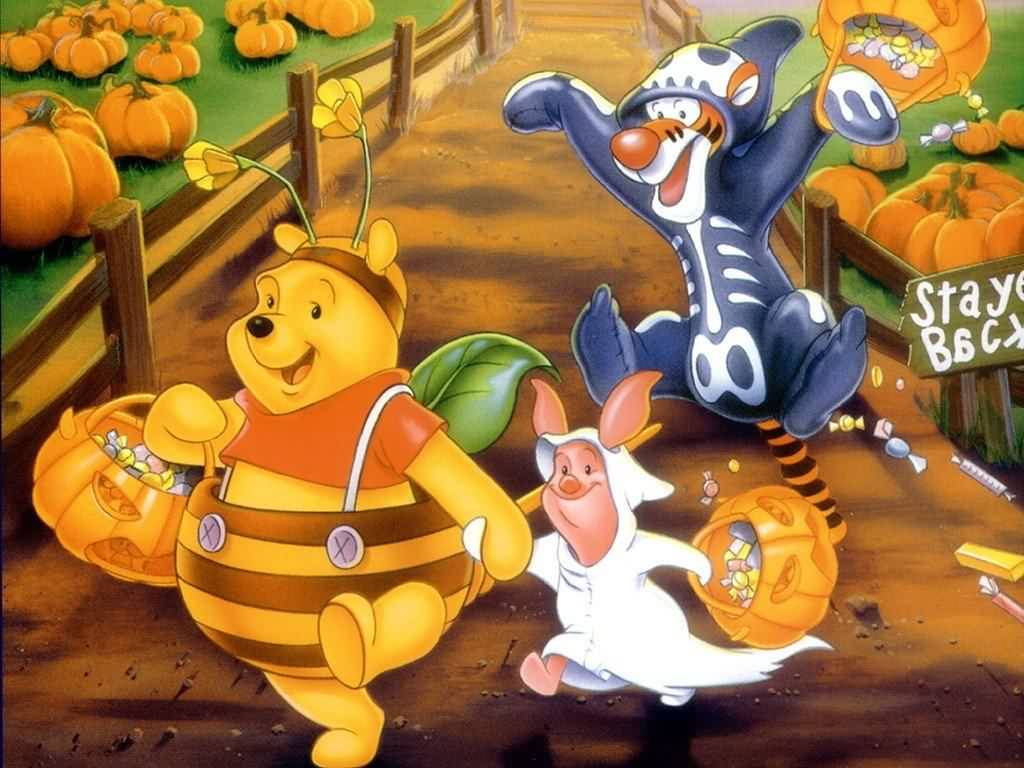 Pooh Halloween Picture