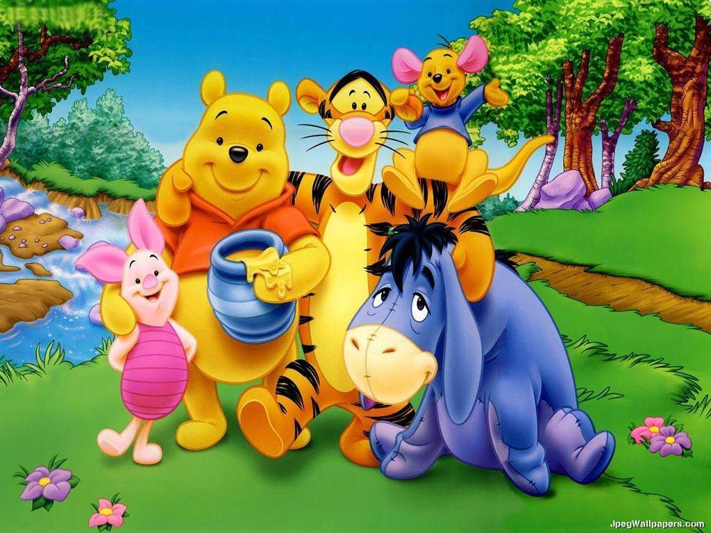 Pooh With Best Friends Picture