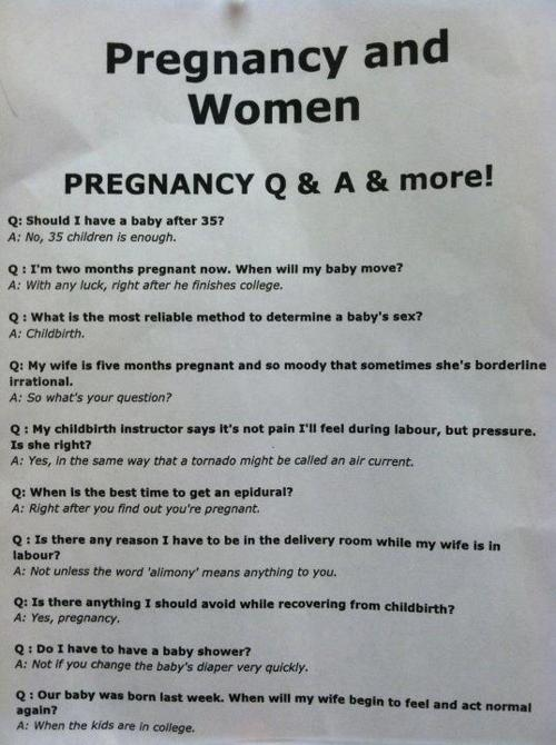 Pregnancy and women Funny Quote Picture