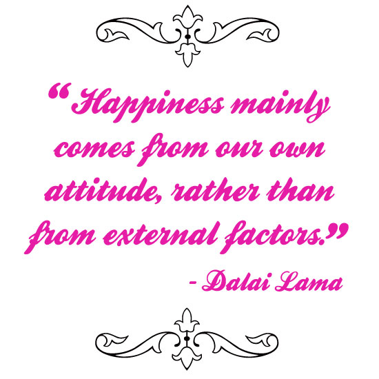Happiness Mainly comes from Our own Attitude