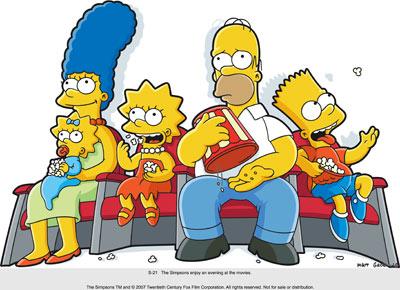 Simpsons Together Picture