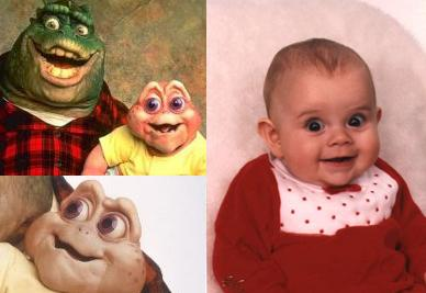 So my friend showed me her baby photo Funny Baby Picture