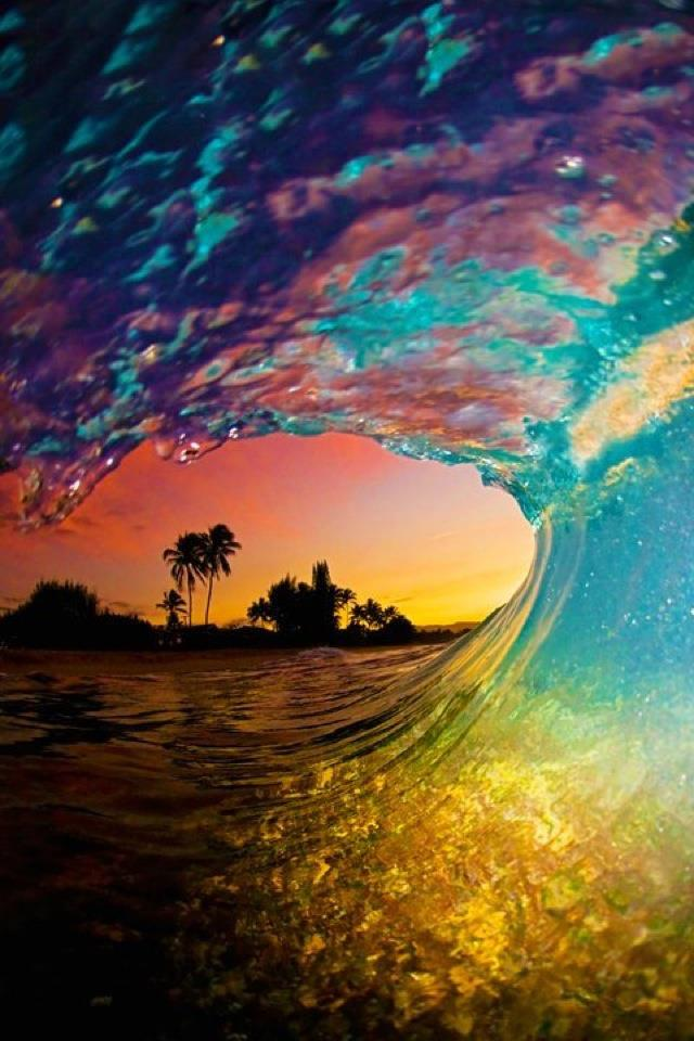 Stunning wave Funny Picture