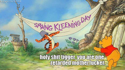 Stupid Tigger Funny Image