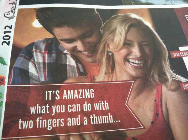 Suddenly, a Wild Bowling Ad Appears Funny People Picture