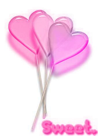 Sweet Pink Heart Graphic for Fb Share