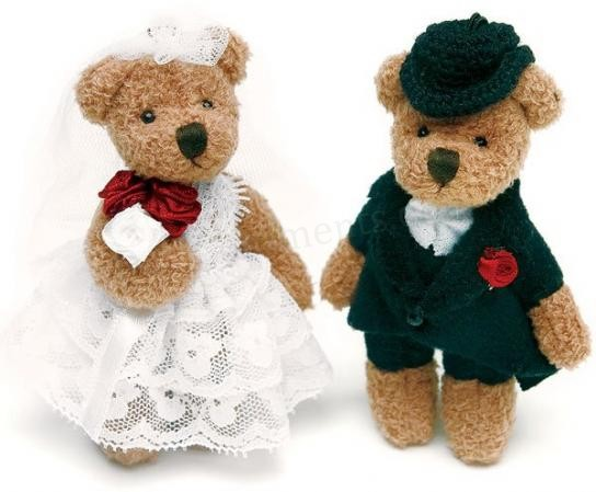 Teddy bear Couple Graphic