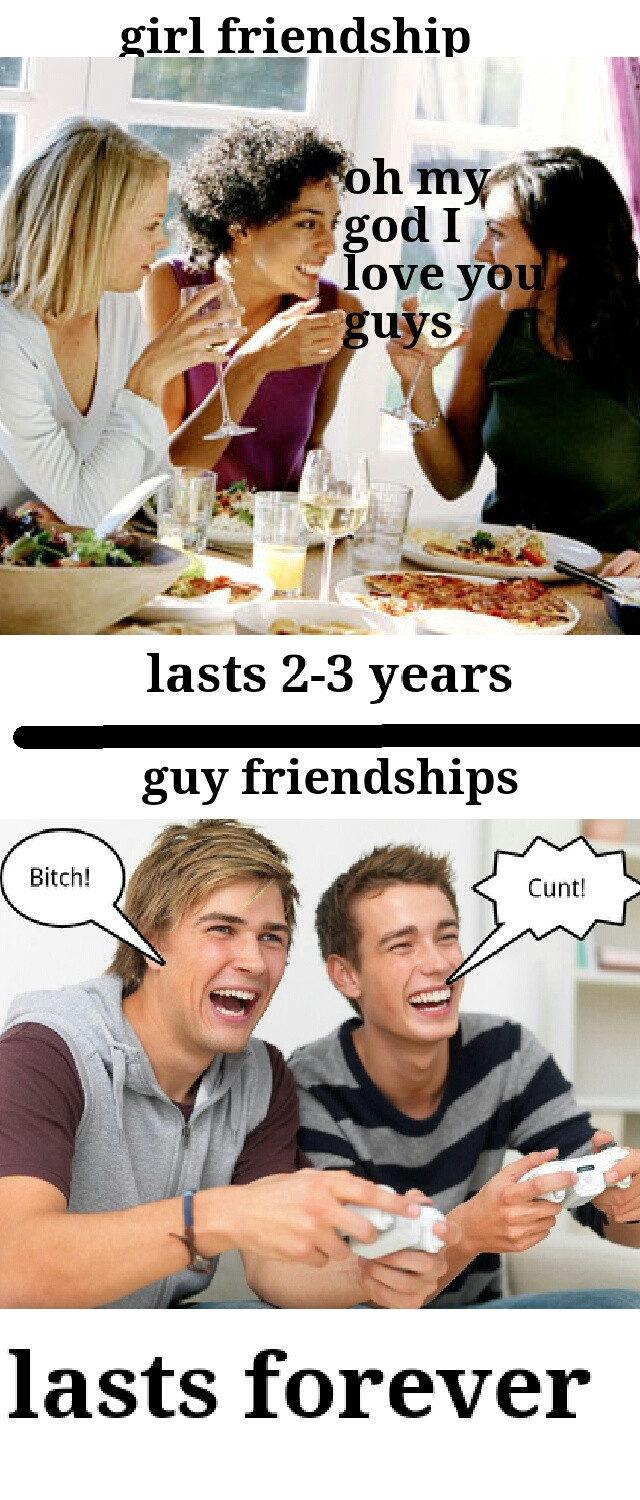 The difference between girl and guy best friends Funny People Picture