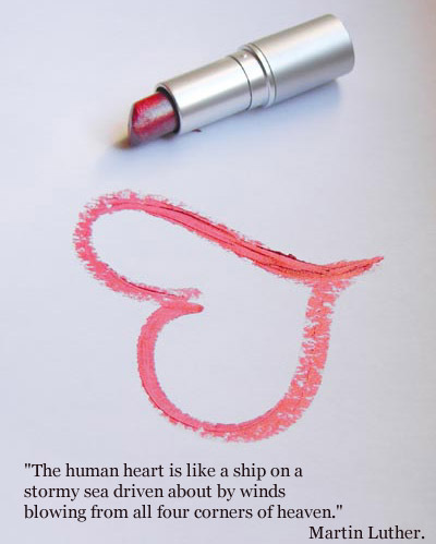 The Human Heart is Like a Ship on a Stormy Sea