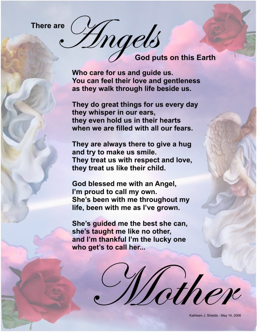 There are Angels Happy Mother's Day