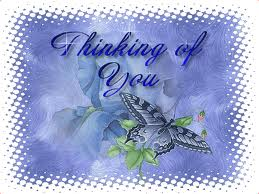 Thinking of You Butterfly Graphic