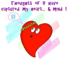 Thoughts of You have Captured My Heart…. & Mind !