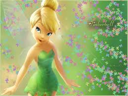 Tinkerbell in Green Dress Picture