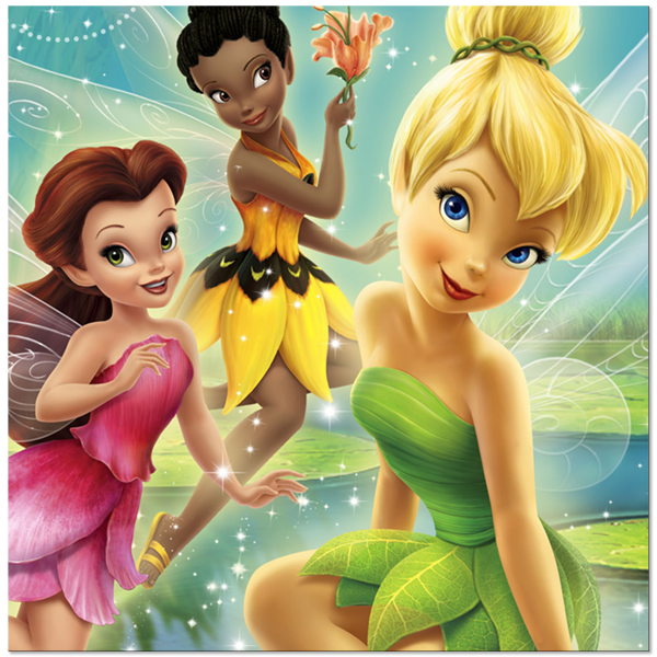 Tinkerbell with Her Friends Picture