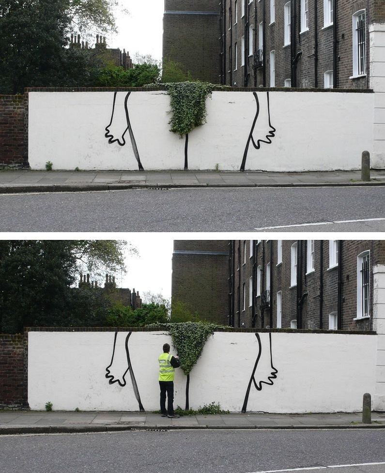 Trimming the hedges Funny Picture
