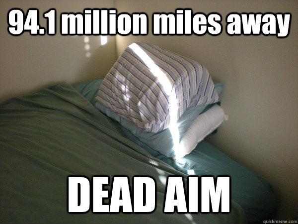 Troll Sun Funny Picture