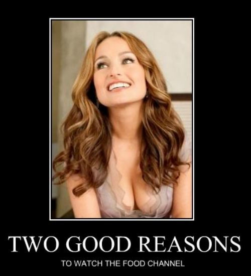Two good reasons Funny Women Picture