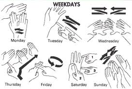 Weekdays Picture