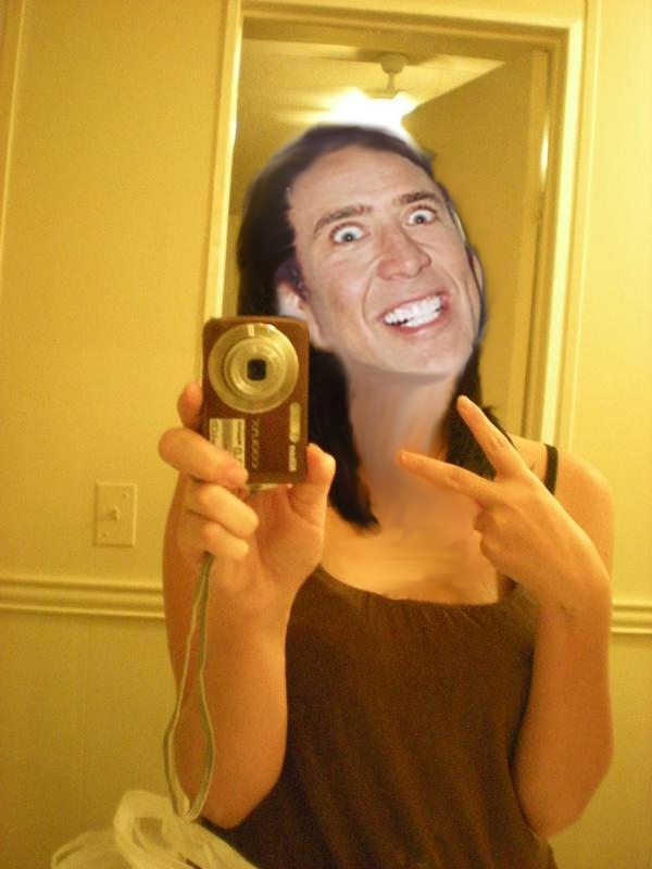 What I do to girls who take pictures of themselves in the mirror Funny Men Picture