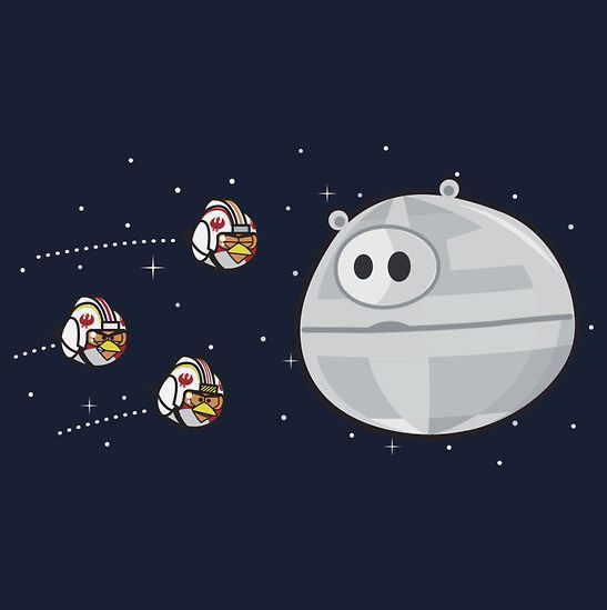 What I thought Angry Birds Space would be like.. Funny Picture