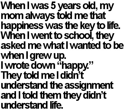 When I Was Five Years Old