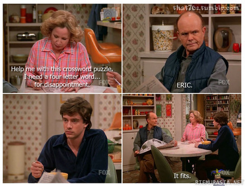 Why I love Red Foreman Funny People Image