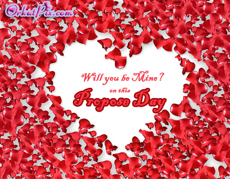 Will you be Mine Happy Propose Day