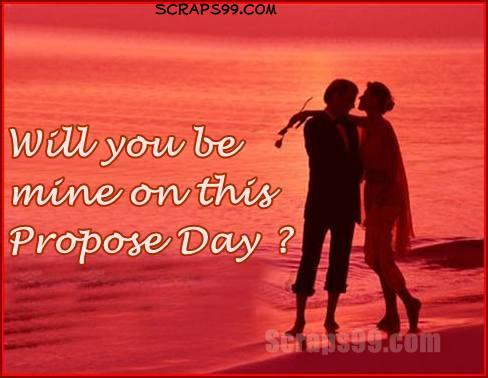 Will you be Mine on this Propose Day