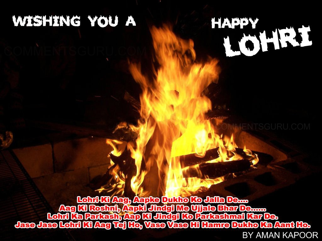 Wishing you a Happy Lohri