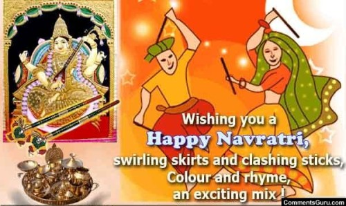 Wishing you a Happy Navratri