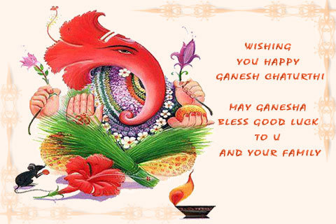 Wishing You Happy Ganesh Chaturthi