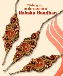 Wishing you on the Ocassion of Raksha Bandhan
