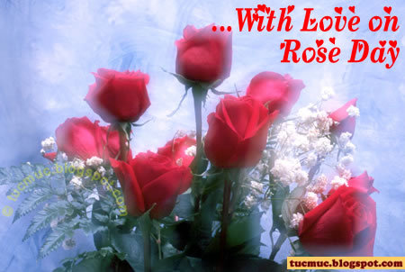 With Love on Rose Day Graphic for Fb Share