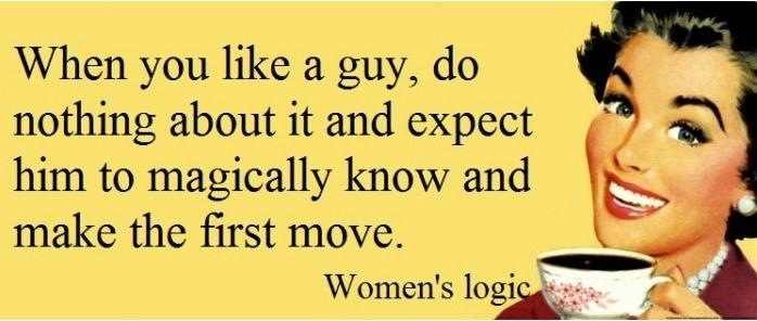 Women's logic Funny Quote Picture