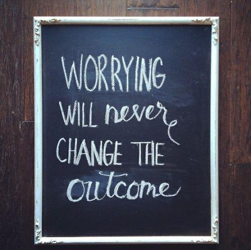 Worrying Funny Quote Picture