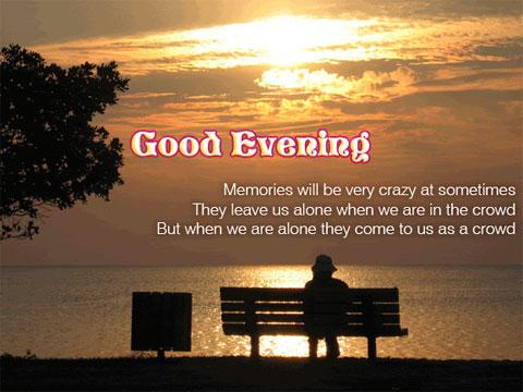 Evening Ecard For Fb