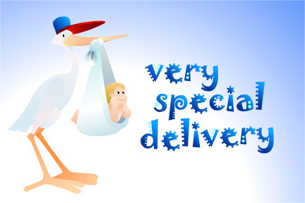 Very special delivery new baby greetings new baby graphics99 related images m4hsunfo