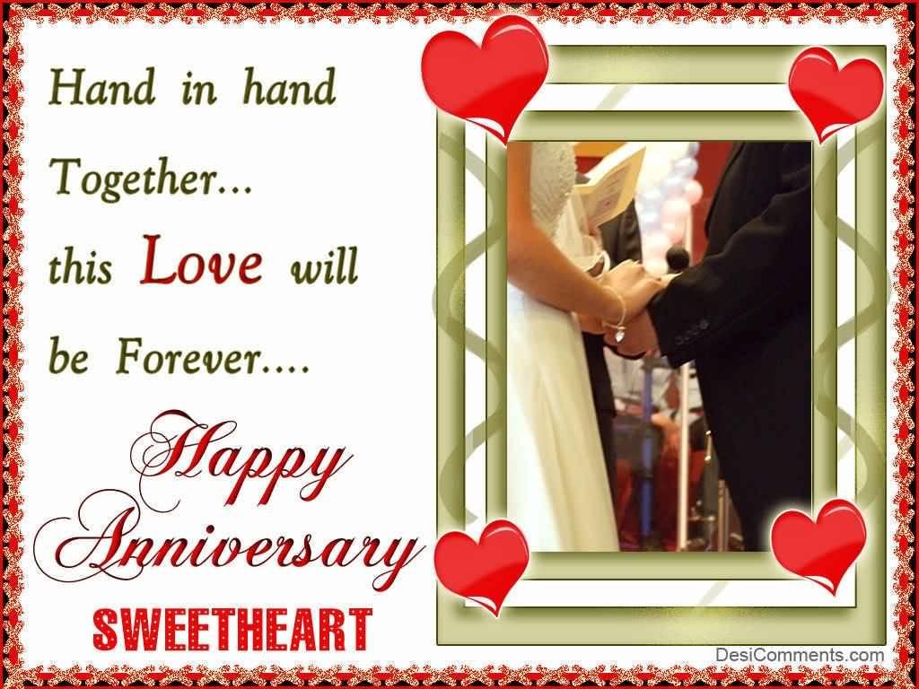 Happy Anniversary Sweetheart